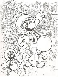 35 mario pages hunt color images