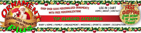 personalized christmas tree ornaments online ornament plus