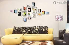 wall decoration ideas living room for well modern living room wall