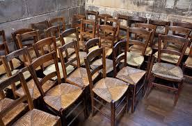 chaise d église un concours pour un millier de chaises uniques par jean philippe