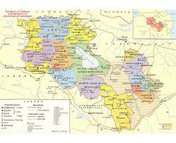 Road Map Of Tennessee by Maps Of Armenia Detailed Map Of Armenia In English And Russian