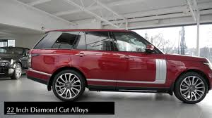 car range the leven car company range rover autobiography youtube