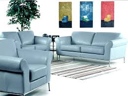 Baby Blue Leather Sofa Blue Leather Sofas Adrop Me