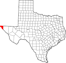 El Paso Texas Map File Map Of Texas Highlighting El Paso County Svg Wikimedia Commons