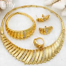 bridal wedding necklace set images 2018 new fashion dubai bridal wedding jewelry sets italy women jpg