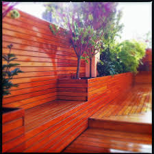 uws roof deck roof garden terrace fence planter boxes
