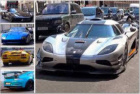 blue koenigsegg one 1 london supercar insanity 55 koenigsegg one 1 blue ferrari f40