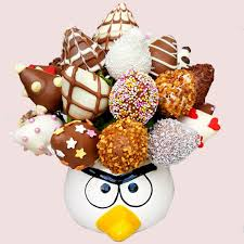 chocolate strawberry bouquet fruity gift angry bird strawberry bouquet chocolate