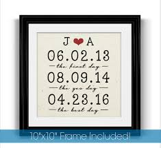 2 year anniversary gift ideas wedding gift simple cotton wedding anniversary gift ideas from