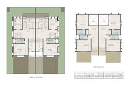 Twin House Plans Architectural Portfolio March 2013