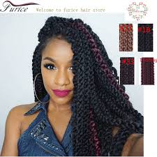 crochet hair extensions 24 3d cubic twist braids crochet hair extensions 12 strands pack