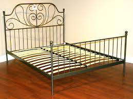 antique iron bed this is what i want for lilys only painted metal