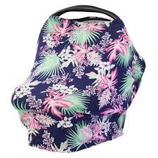 Pink Car Seat Canopy by Tropical Palm Multi Use Baby Car Seat Canopy And Nursing Cover