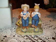 home interior denim days figurines home interior denim days our scarecrow denim days