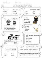 english teaching worksheets 1st grade