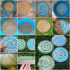 Garden Crafts Ideas Diy Home Project Garden Stepping Stones Find Projects