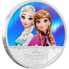 2016 1 oz niue silver disney frozen anna elsa coins jm bullion