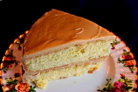 sweet tea and cornbread southern caramel cake