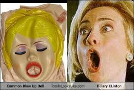 Blow Up Doll Meme - common blow up doll totally looks like hillary clinton