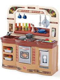 Step Two Play Kitchen by Step 2 Lifestyle Gourmet Café Kitchen For Multiple Cooks In The