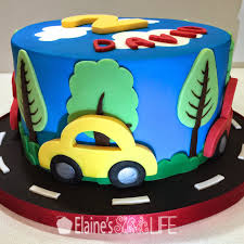 car cake elaine s how to decorate a car cake tutorial