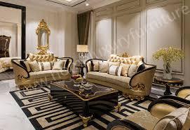Luxury Leather Sofa Sets European Empire Style Leather Sofa Stool Ti 023 From China Sofa