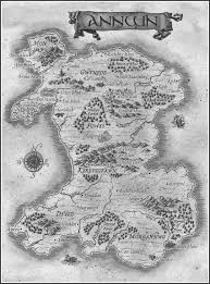 Shannara Map Map Of Annwn