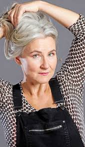 grey hairstyles for senior women 176 best grey images on pinterest silver hair white hair and