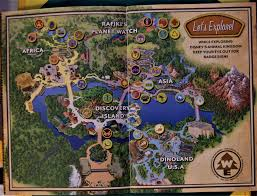 Asia Map Game by Walt Disney World For Kids