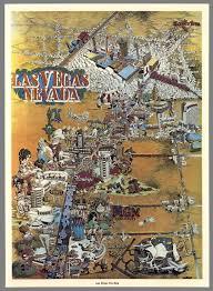 Map Of Las Vegas Nevada by Las Vegas Nevada Las Vegas Fun Map David Rumsey Historical