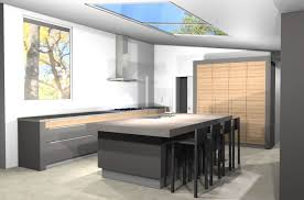 modern kitchen design midcentury in a colonial town