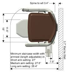 stannah u0027s solus stairlift for straight stairs details colors