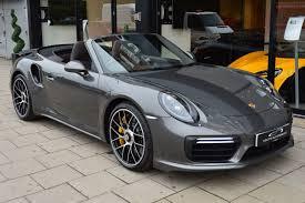 porsche agate grey porsche 911 turbo s cabriolet gen 2 pdk 3 8 2dr coutts automobiles