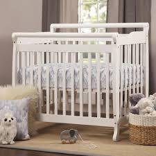 Solid Wood Mini Crib by Davinci Emily Convertible Mini Crib White Babies
