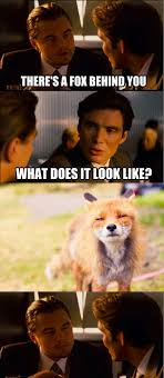 Inception Memes - there s a fox behind you weknowmemes