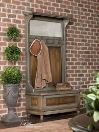 Hall Tree 20 Convenient And Practical Traditional Hall Trees For Your