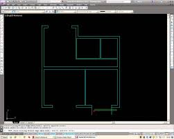 Basic Floor Plan by Autocad How To Draw A Basic Architectural Floor Plan Youtube