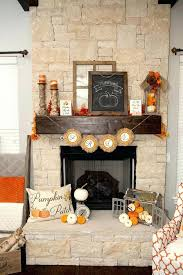 decorate fireplace mantel for fall high ceiling your fake without