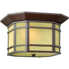 Dusk To Dawn Outdoor Ceiling Light by Hinkley Lighting Cherry Creek One Light 12 Inch Led Outdoor