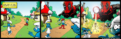 deadpool smurfs battles comic vine