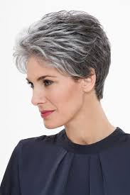 highlights for gray hair photos short gray hair with highlights archives hairstyles and haircuts