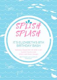 pool party invitations customize 93 pool party invitation templates online canva