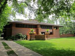 home design exterior and interior frank lloyd wright architectural style with minimalist exterior