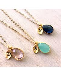 necklaces for mothers day slash prices on birthstone initial necklace 14k gold filled