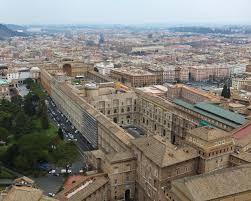 pórtico del belvedere 1506 bramante roma ubicado sobre una