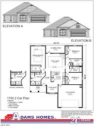 Fox Ridge Homes Floor Plans by Central Park Adams Homes Adam Homes Floor Plans Crtable