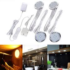 aliexpress com buy 4 pack led home kitchen under cabinet light aliexpress com buy 4 pack led home kitchen under cabinet light lamps for closet wall kitchen cabinet decoration lighting lamps bulb kits ac100 240v from