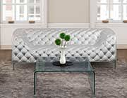 Silver Leather Sofa by Modern Armchair And Sofa Collection Z270 Leather Sofas