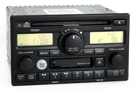 04 honda pilot radio code honda odyssey ex l 2002 04 radio am fm cd cassette player pn 39100