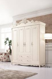 Bedroom Furniture Wardrobes China New Design Popular Solid Wood Oak Wedding Bedroom Furniture
